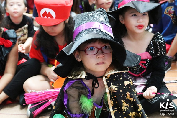 KIS International School Halloween 2018
